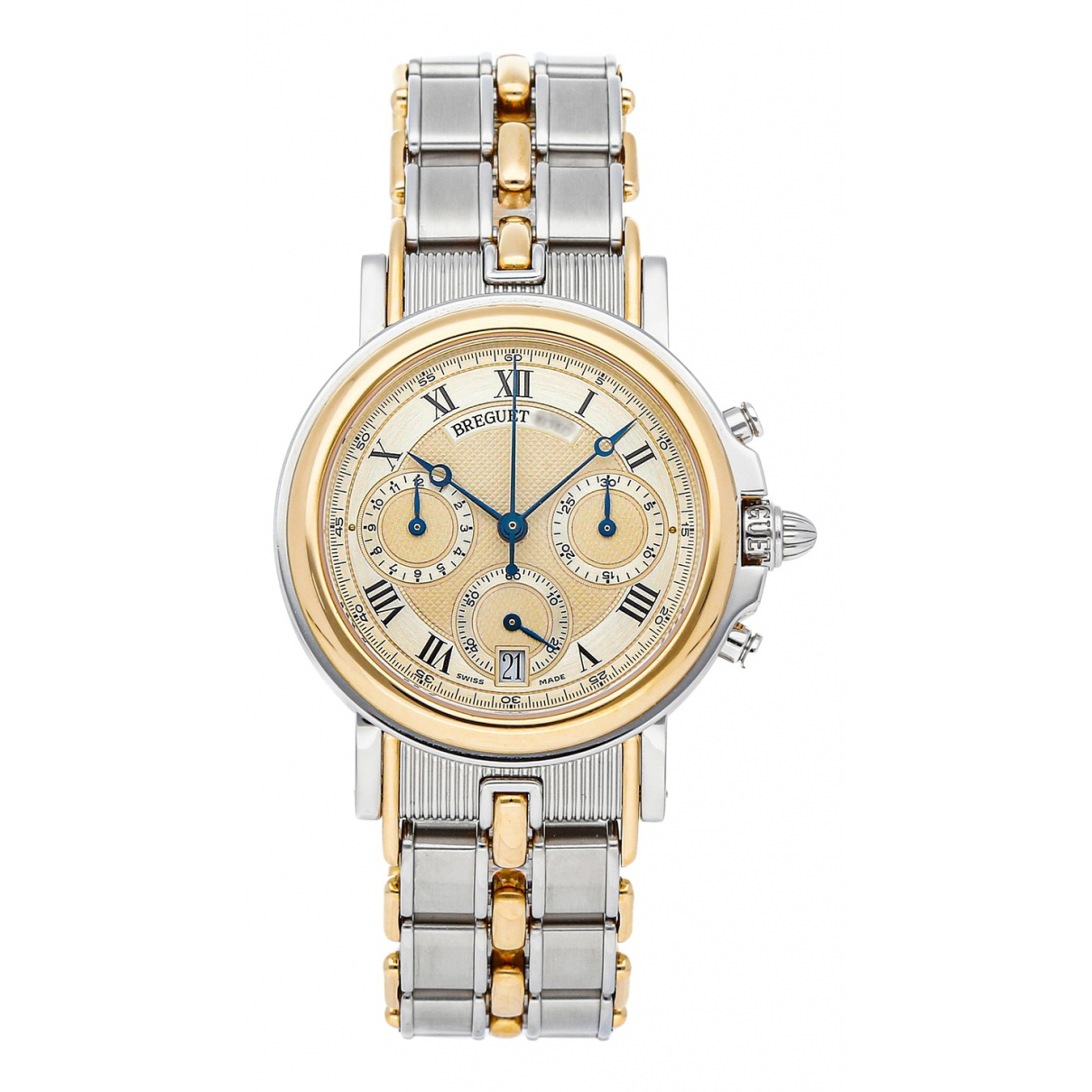 breguet n silver gold and steel watches 1 Aysim