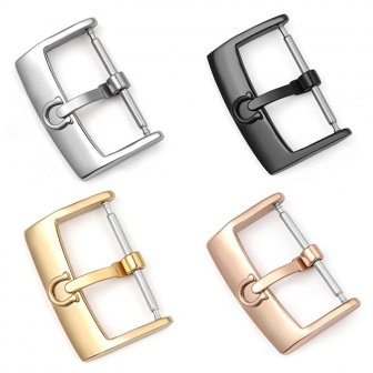 316L Stainless Steel 12 14 16 18 20 mm Watch Buckle Substitute...