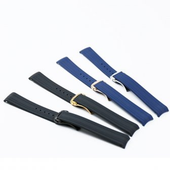 Rubber strap men's 20mm watch accessories for Omega new hippocampus 300 sports...